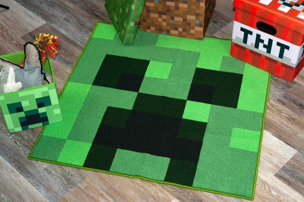Nine New Minecraft Themed Home Goods You'll Want In Your Home