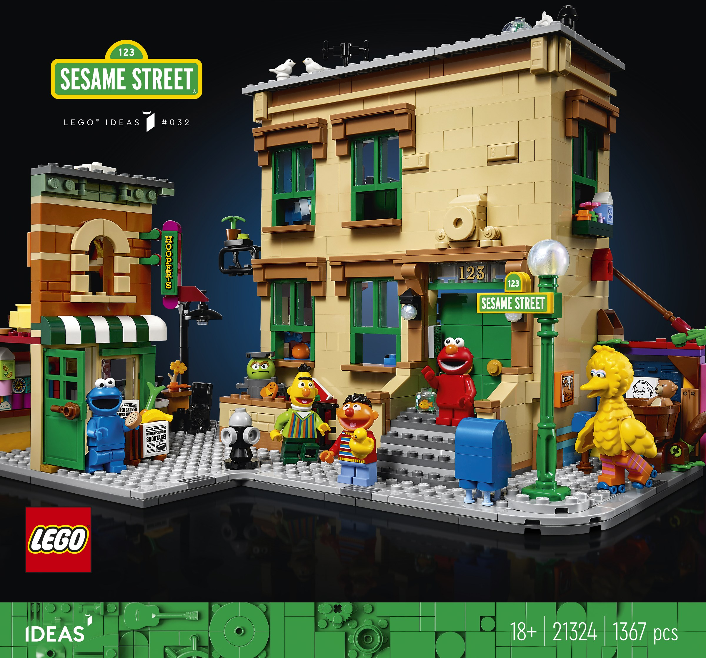 LEGO Sesame Street Set Soon to Stroll Your Way on November 1