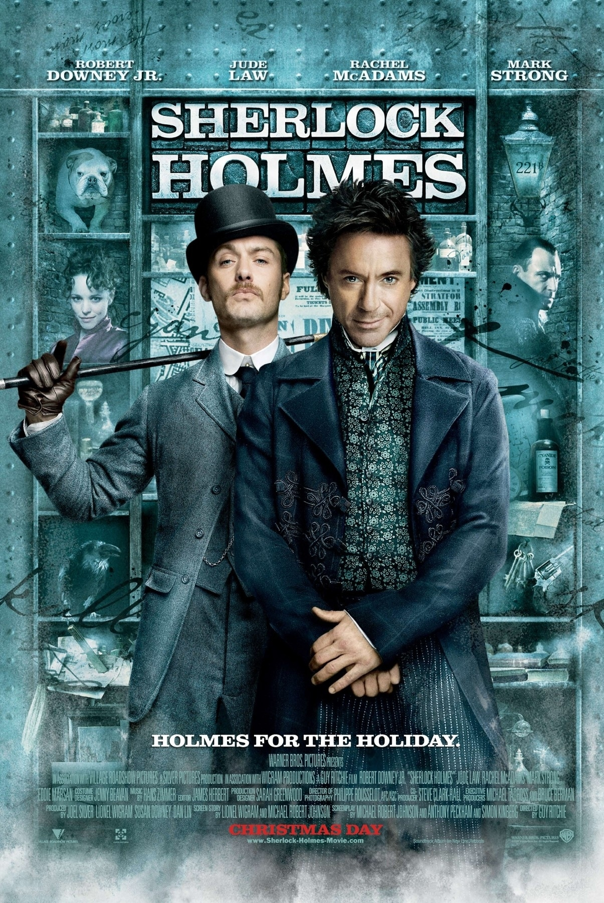 Robert Downey Jr. Wants to Turn Sherlock Holmes Movies into Marvel-Style Cinematic Universe