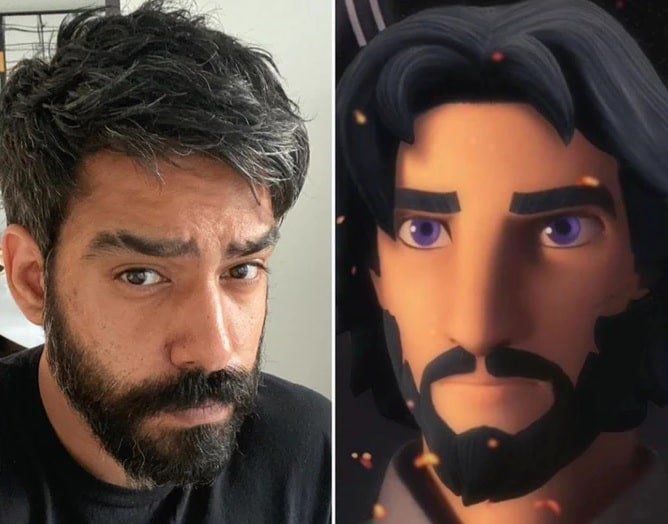 Rahul Kohli; Ezra Bridger; Star Wars Rebels