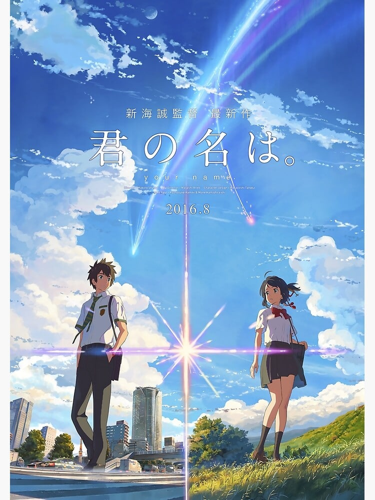Your Name: the anime film Mugen Train is trying to take on.