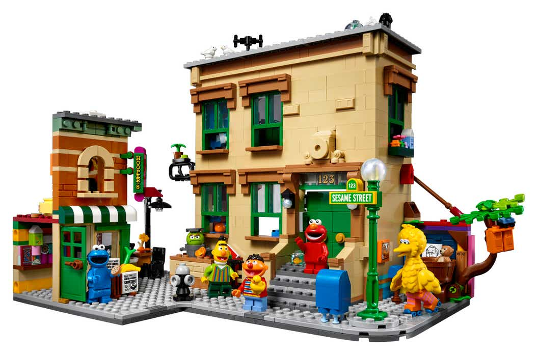 LEGO 123 Sesame Street Set Just Launched