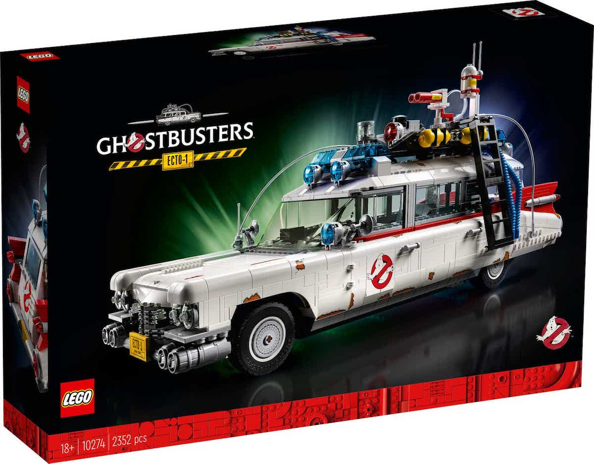 LEGO Ghostbusters Ecto-1 Set Soon to Get to Busting