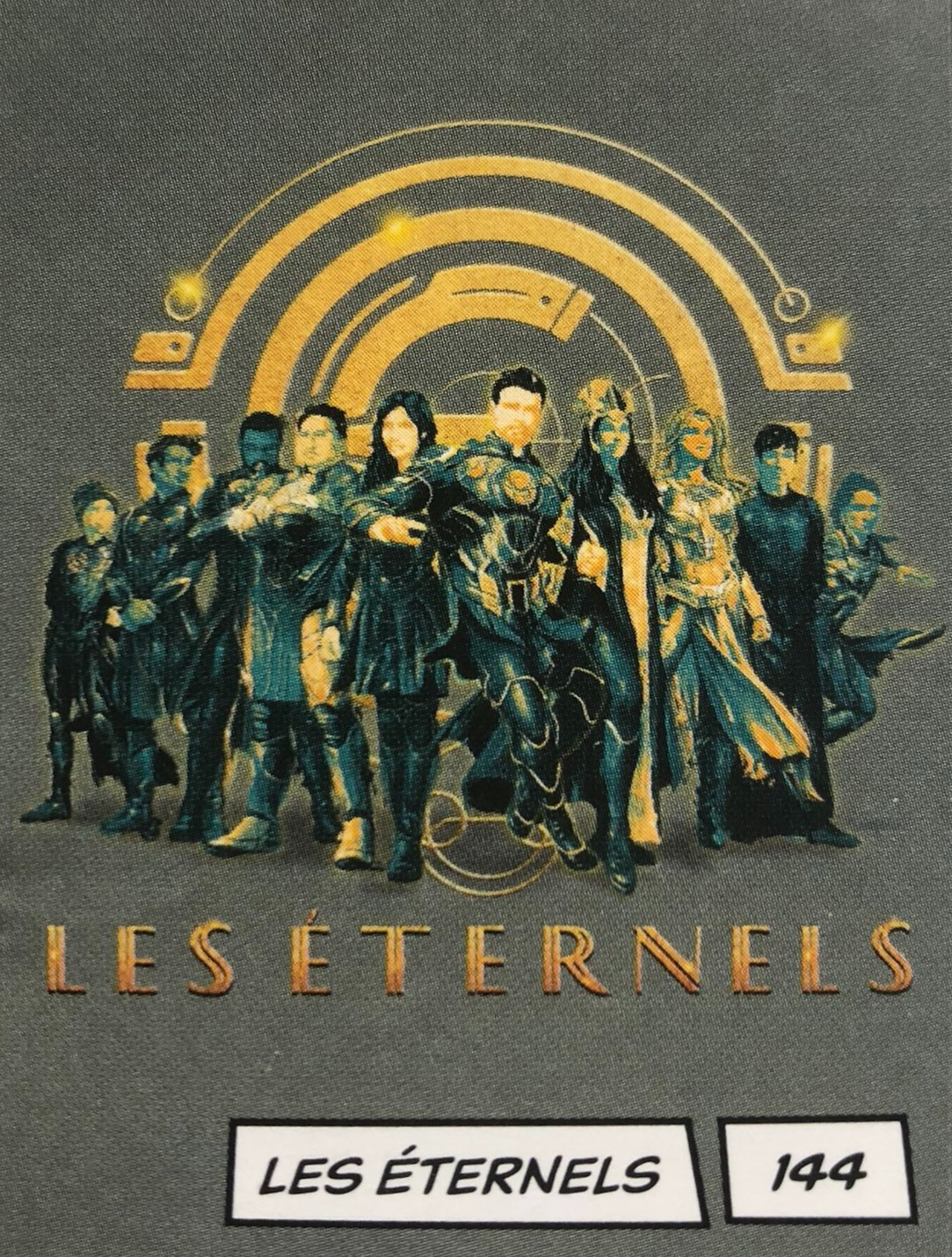 New Eternals Art Finally Shows The Whole Team