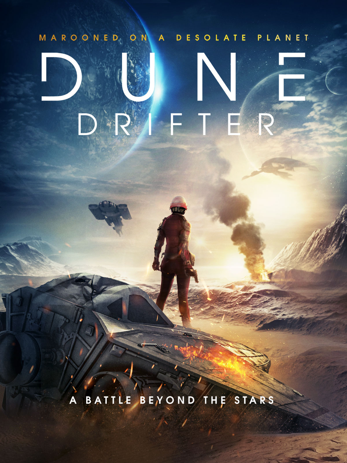 Dune Drifter Military Sci-Fi Horror Movie Gets New Trailer, Will Release December