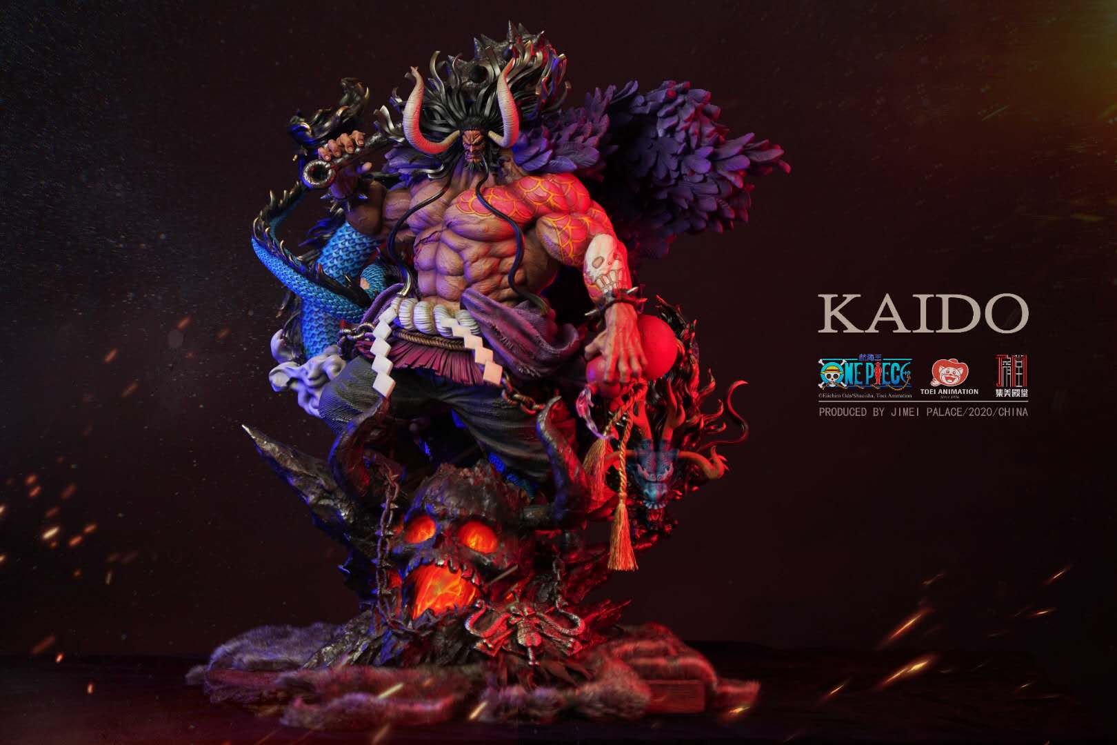 Kaido One Piece Villain Gargantuan Figure by Jimei Palace Unveiled for Preorder