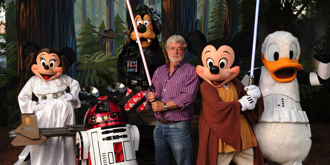 George Lucas Reveals His Reasons for Selling Star Wars to Disney