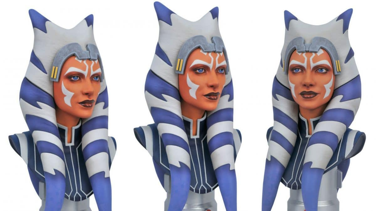 Star Wars: The Clone Wars Ahsoka 1:2 Scale Bust Coming Soon