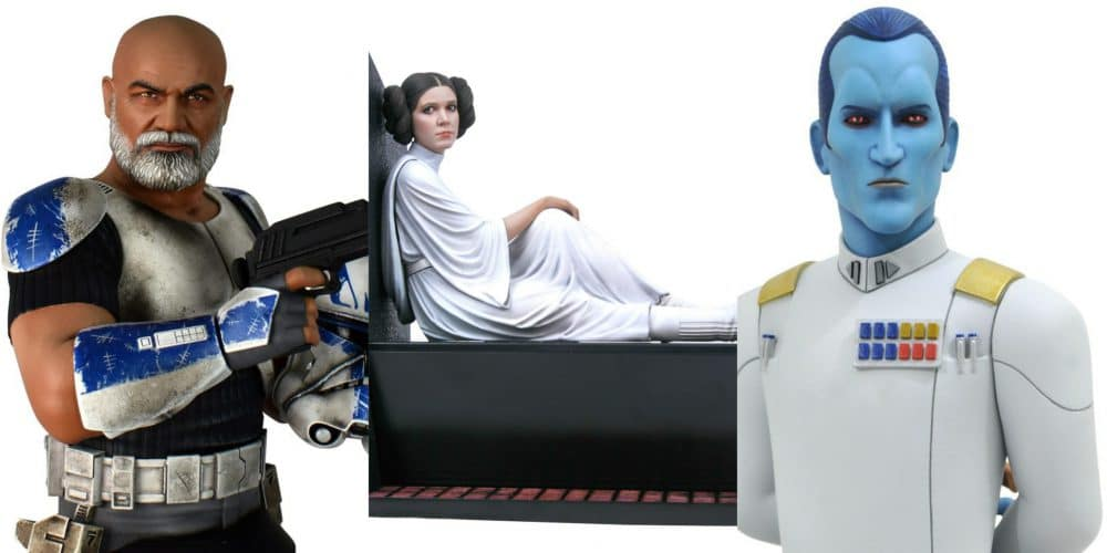 Gentle Giant: Leia, Thrawn, & Rex Available For Pre-Order