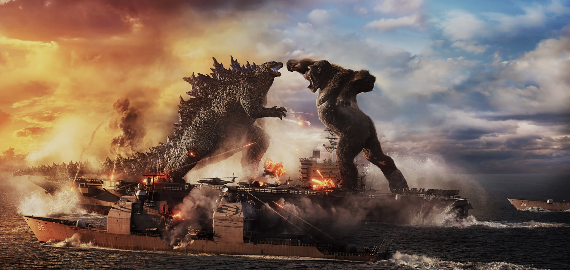 Your First Look At 'Godzilla vs. Kong' Is Finally Here (Trailer)