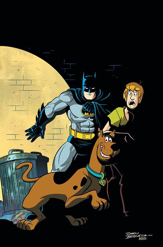 DC Announces New Batman x Scooby-Doo Crossover Comic Book Series