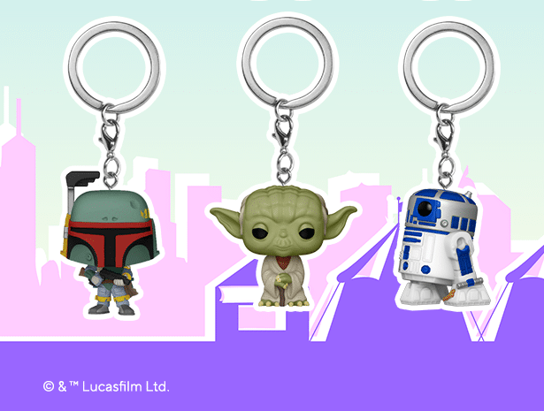 Funko Fair: Star Wars Pop! Keychains Revealed