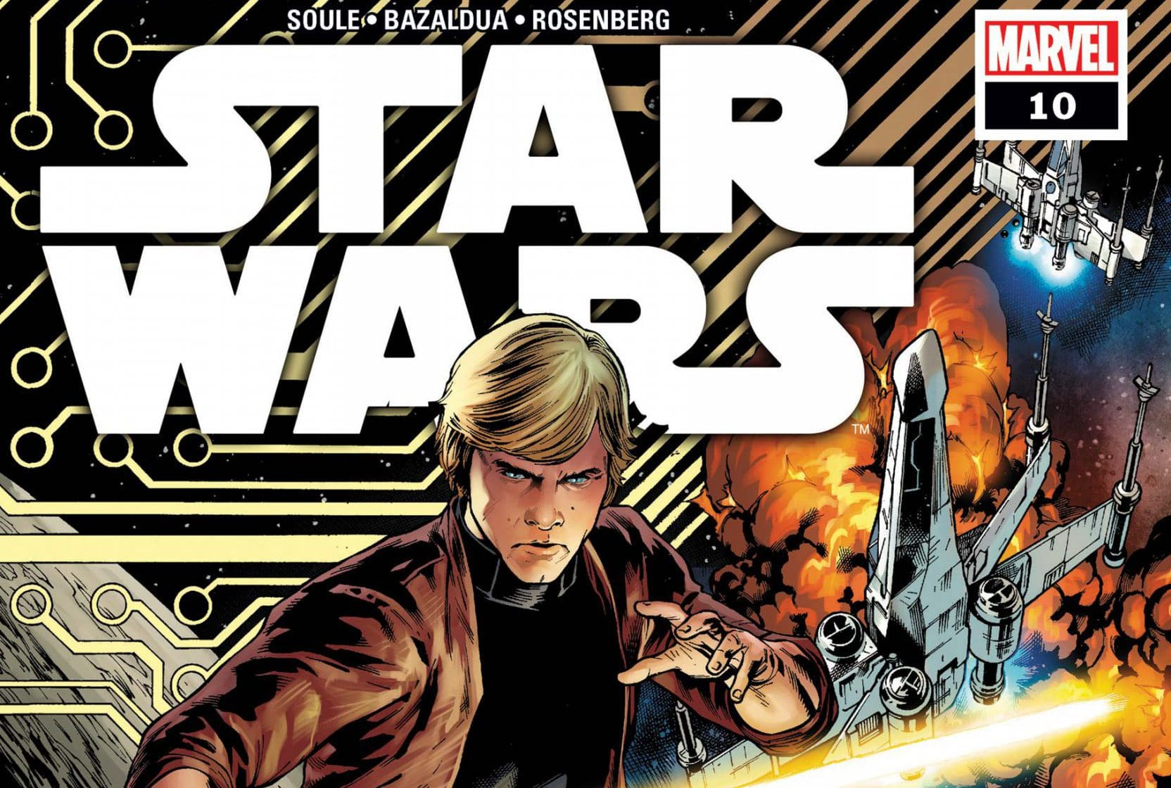 Comic Book Review: Star Wars #10 – Operation Starlight: The Rebel Code