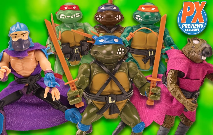 TMNT Retro Villains & Sewer Lair Action Figure 6-Packs Coming Soon