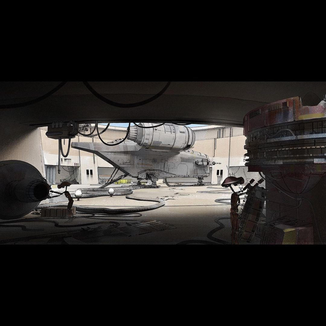 The Mandalorian Originally Wanted to Include Docking Bay 94 as Cameo