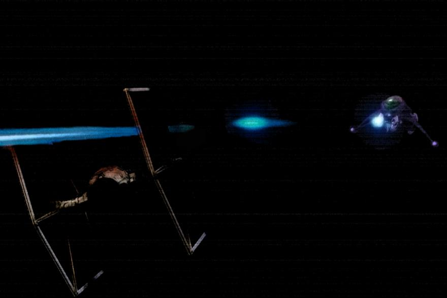 Crossover Battles: TIE Fighter vs. Space Banshee