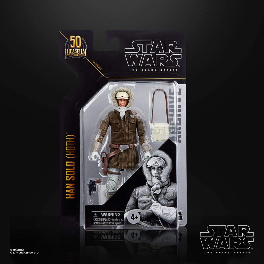 The Black Series Han Hoth