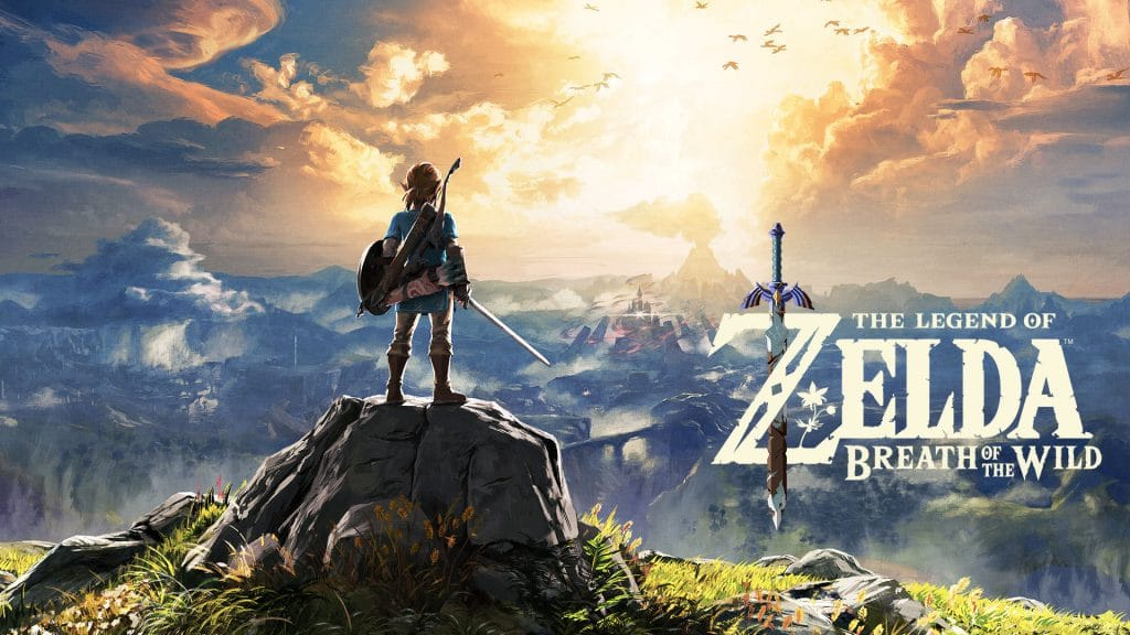 The Legend of Zelda: Breath of the Wild for Nintendo Switch.