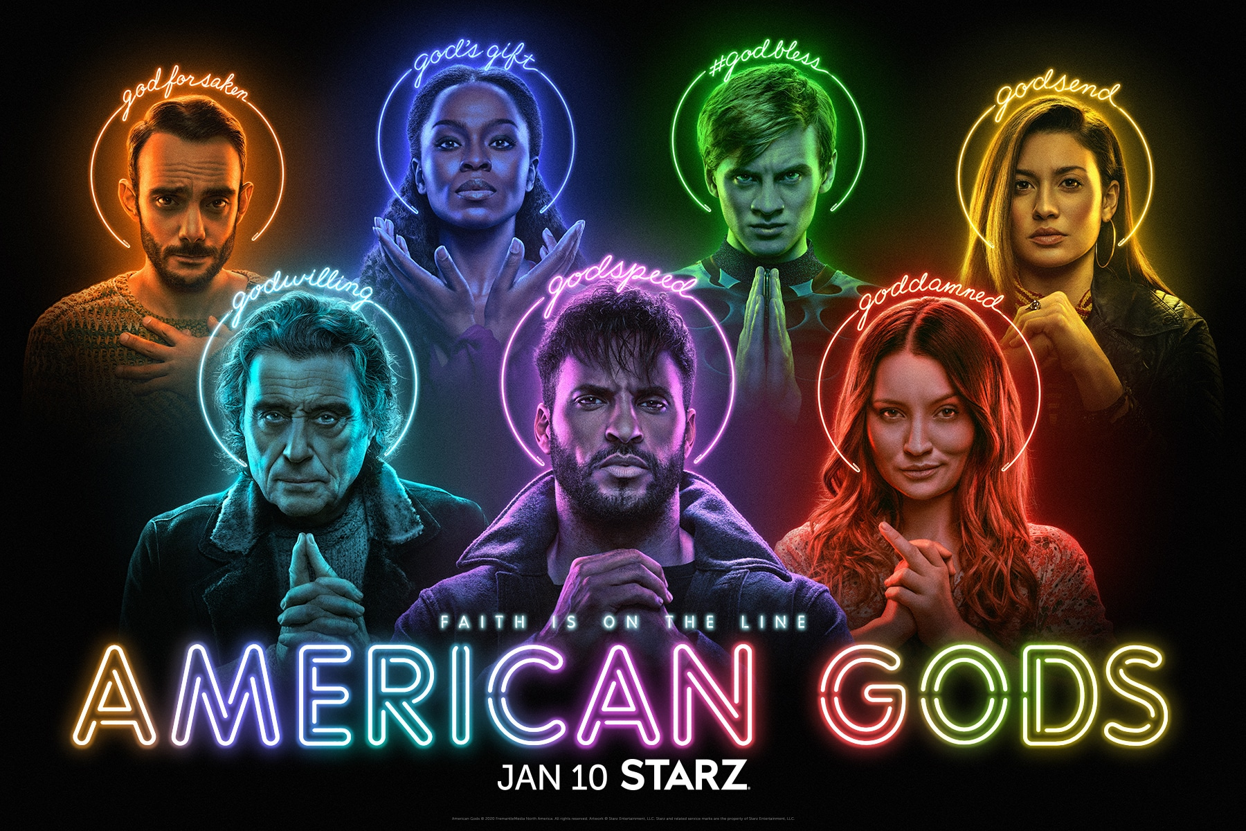 American Gods Cancelled by STARZ, But Neil Gaiman Confirms It Isn't Over