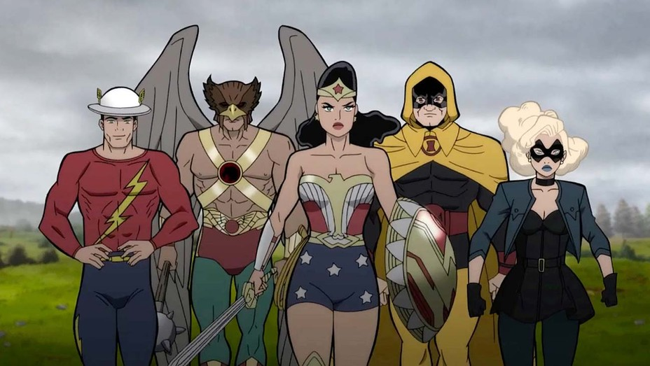 New Justice Society: World War II Photos Released.