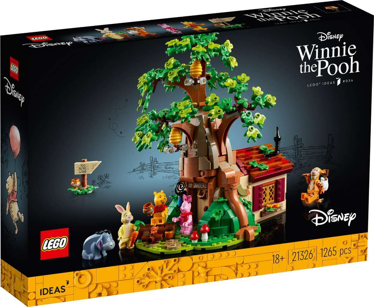 Hundred Acre Wood-Sized Winnie the Pooh LEGO Set Soon Launching