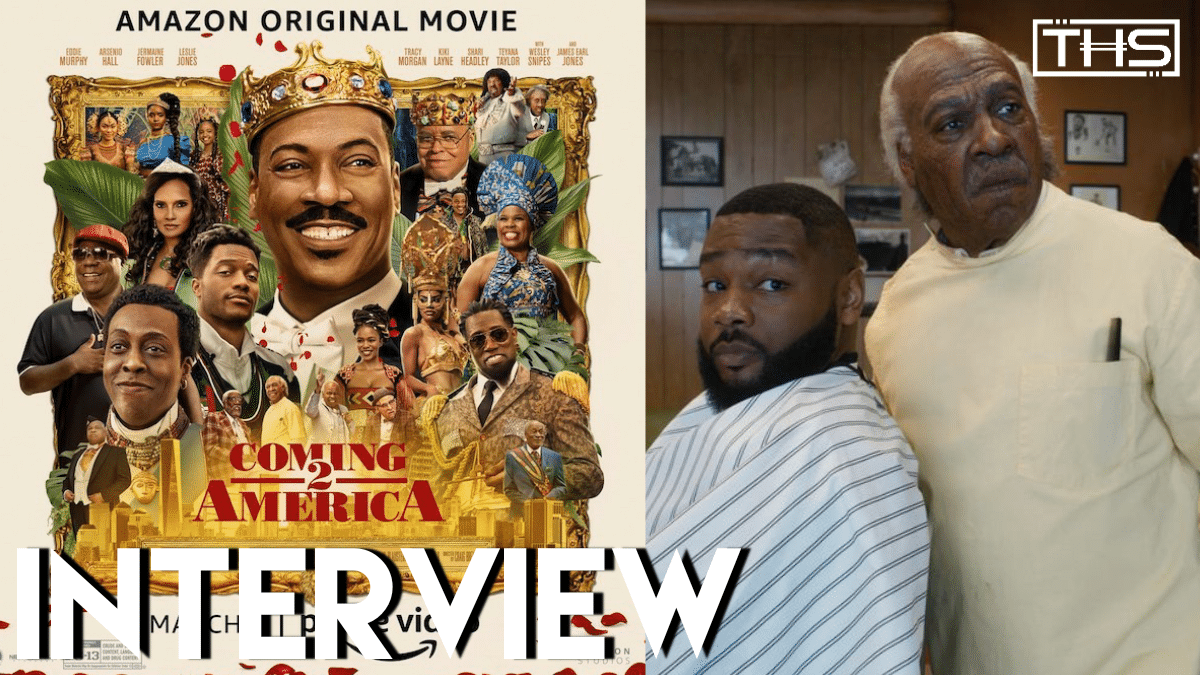 Prosthetic Makeup Artist Mike Marino Talks 'Coming 2 America' And Teases 'The Batman'