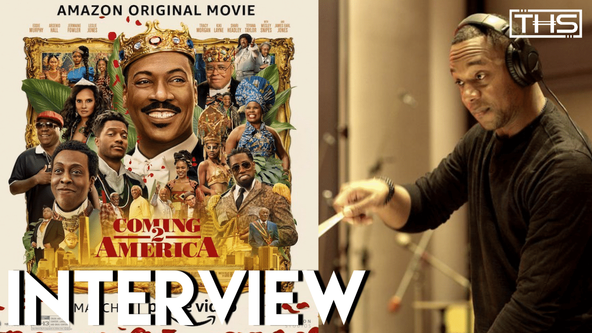 Composer Jermaine Stegall Talks How John Williams & More Influenced 'Coming 2 America'