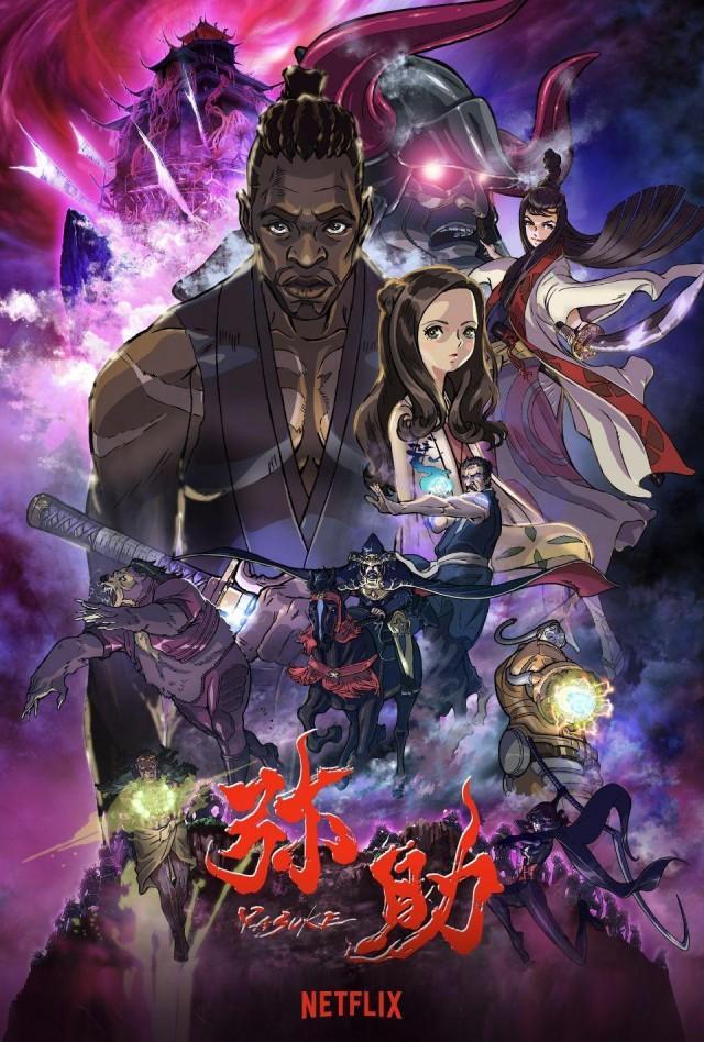 Yasuke promo poster.