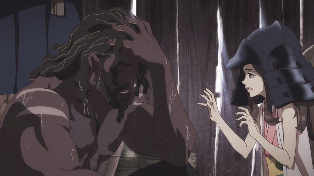 Yasuke facepalming.