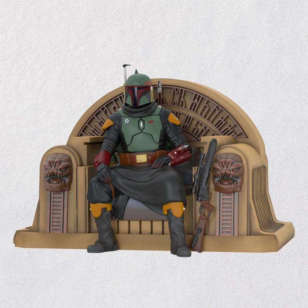Hallmark Star Wars Christmas Ornaments Boba Fett