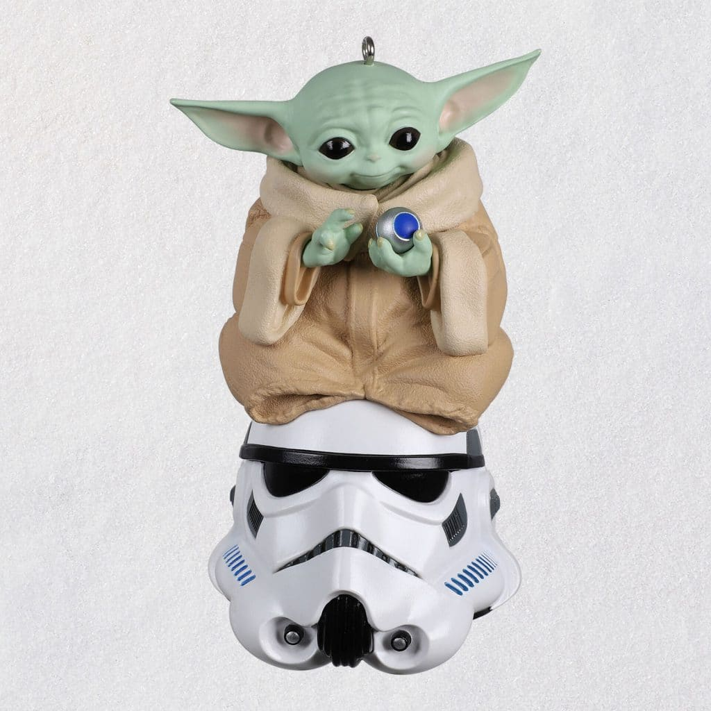 Hallmark Star Wars Christmas Ornaments Grogu