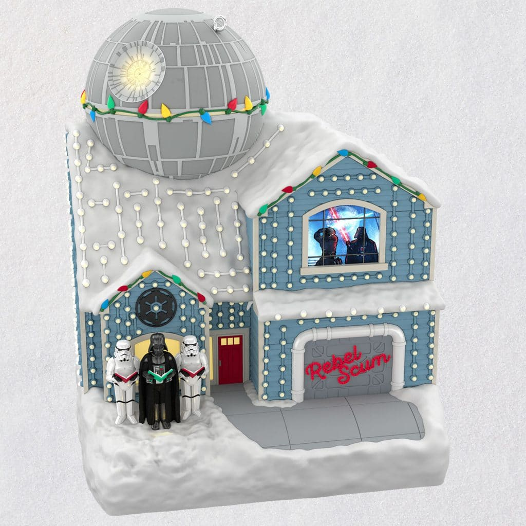 Star Wars The Merriest House in the Galaxy Musical Ornament
