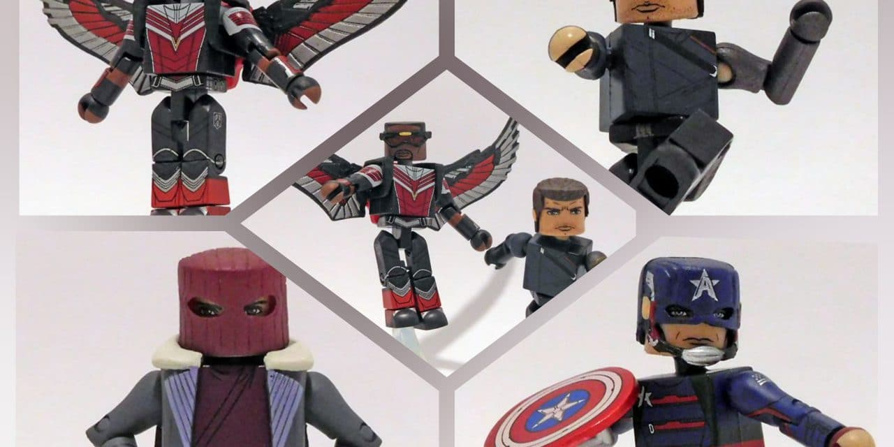 The Falcon And The Winter Soldier Minimates Now Available At Walgreens Stores