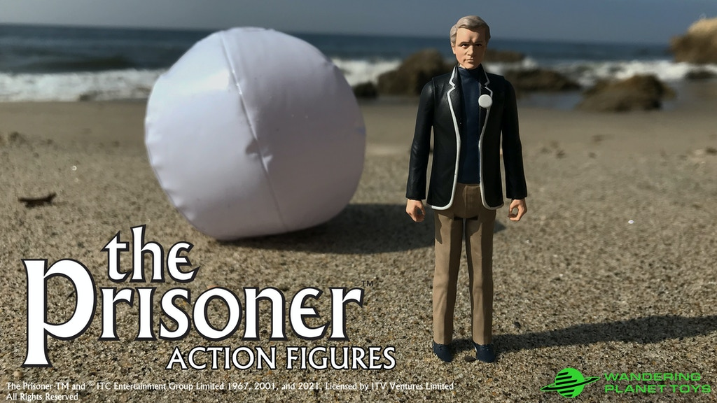"First Look At ""The Prisoner"" Retro Style Two-Pack Action Figure Sets From Wandering Planet Toys"
