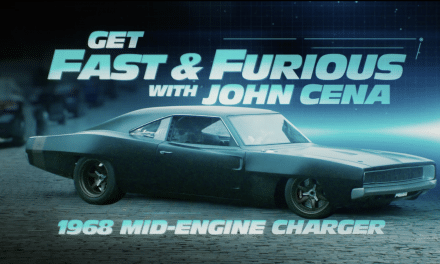 John Cena Drives F9 Supercars In 'Get Fast & Furious'